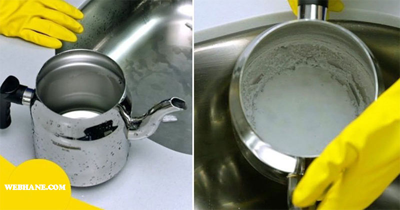 Çaydanlık Kireci Temizleme