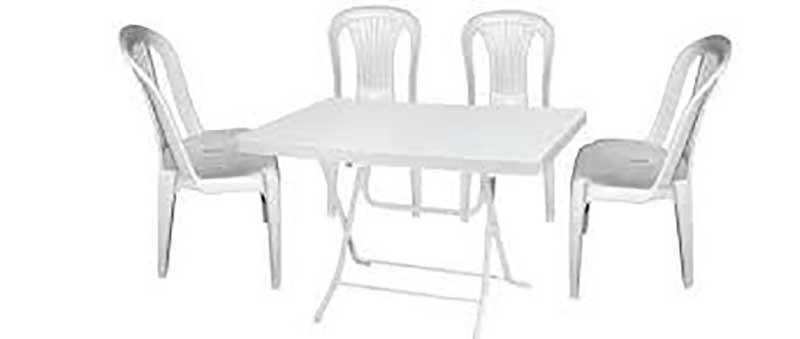Plastik Masa Sandalye Kiralama