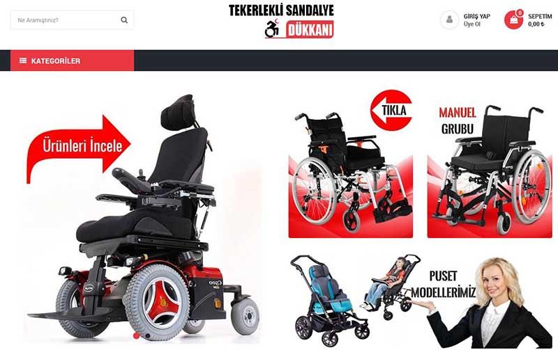 İstanbul Akülü Tekerlekli Sandalye Dükkanı